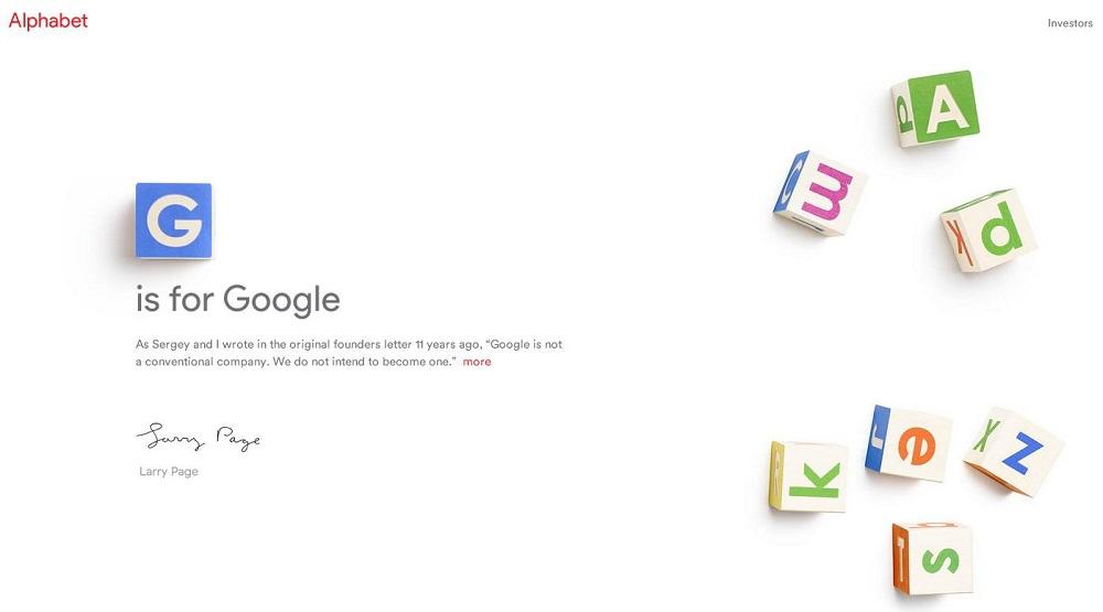 Alphabet de Google compra un dominio bien curioso