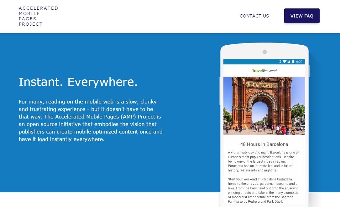 Google presenta proyecto para acelerar la carga de websites en celulares