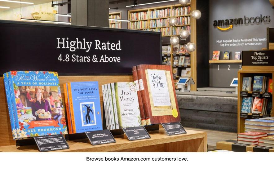 Amazon Books abre su primera libreria fisica en Seattle
