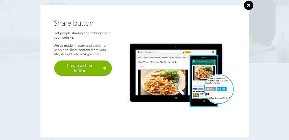 boton compartir skype
