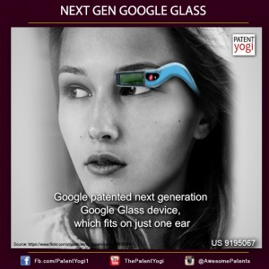 patente yogi proximas google glass