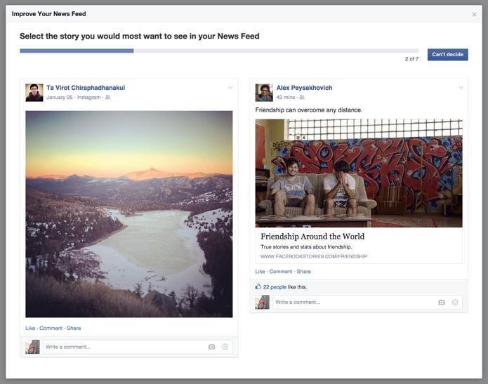 Facebook actualiza el algoritmo para no destacar post virales que no queramos