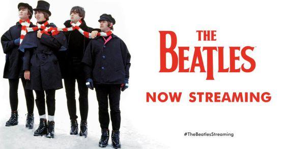 The Beatles llegan en streaming en Nochebuena