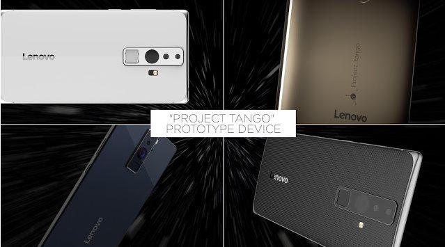 Google y Lenovo se unen y crean celulares con Realidad Aumentada