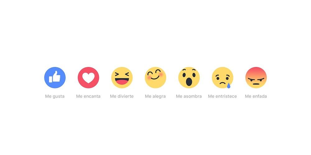 El impacto de las nuevas reacciones en Facebook