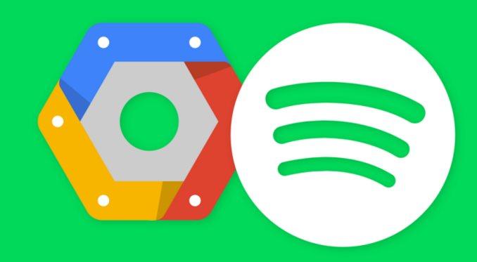 Spotify migra a Google