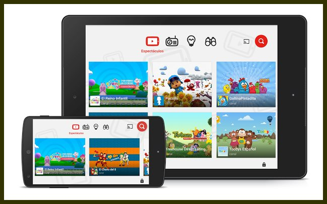 YouTube Kids llega a Mexico