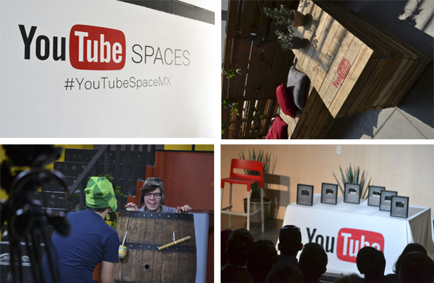 YouTube Pop-Up Space aterriza en Mexico