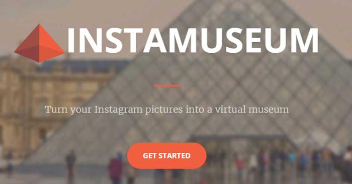 Convierte tus fotografias de Instagram en un museo virtual